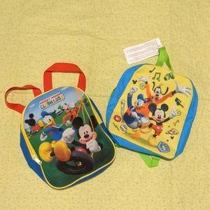 2 Disney Mini Backpacks